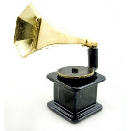 Vintage Music Classical Gramophone Dollhouse Miniature