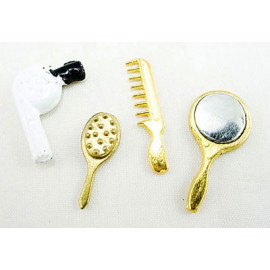 Bathroom Cleanup Accessories Dollhouse Miniature Set