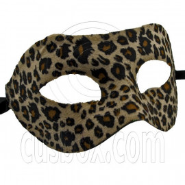 Cheetah Mardi Gras Cosplay Venetian Masquerade Ball Halloween Party Face Mask