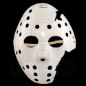 White Plastic Hockey 3D Party Halloween Fancy Dress Scary Costume Full Face Mask