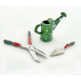 Garden Plant Planting Tool Kit Dollhouse Miniature Set