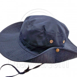 Dark Navy Blue Camping Hiking Boonie Hat
