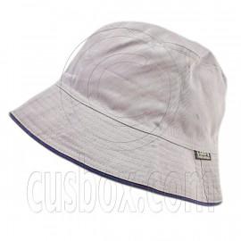 Reversible Outdoor Plain Bucket Hat (Gray / Khaki)