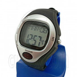 Digital Heart Rate and Calories Counter Watch 0622 (SILVER)