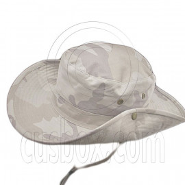 Pale Gray Desert Camo Camping Hiking Boonie Hat