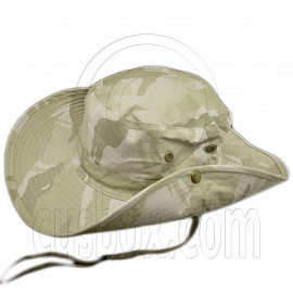Pale Green Desert Camo Camping Hiking Boonie Hat