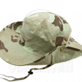 Dark Green Desert Camo Camping Hiking Boonie Hat