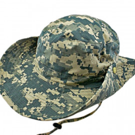 Light Green Digit Camo Camping Hiking Boonie Hat