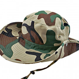 3 Colors Desert Camo Camping Hiking Boonie Hat