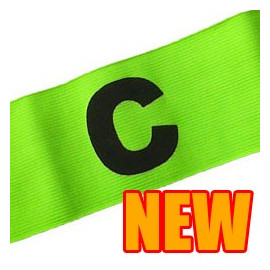 Football Games Gear Adjustable Captain Armband (YELLOW) Round C