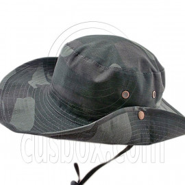 Black Green Desert Boonie Hat