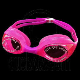 Swimming Kids Goggles with Box PINK PURPLE