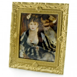 Canvas Oil Painting Framed Picture Dollhouse Miniature