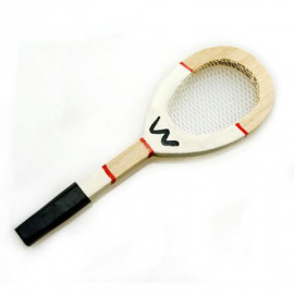 Tennis Racket Badminton Squash Game Dollhouse Miniature