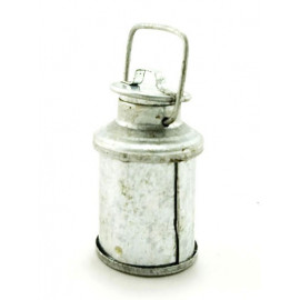 Galvanized Water Milk Bottle Can Dollhouse Miniature