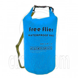 75L Free Flier Taffela Waterproof Dry Bag Size S (with 1 Eyelet & shoulder strap)