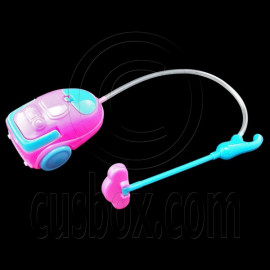 Pink Cleaning Machine Vacuum Cleaner 1:6 Barbie Doll's House Dollhouse Furniture