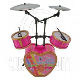 Pink Musical Room Instruments Band Set 1/6 Barbie Blythe Doll's House Furniture