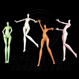 Nude Torso Body 1/6 Scale for Monster High 11' Doll's House Dollhouse Miniature