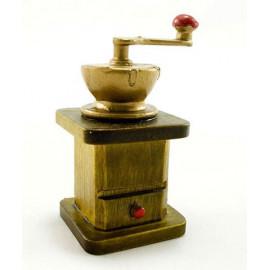 Vintage Mini Roasted Coffee Grinder Dollhouse Miniature