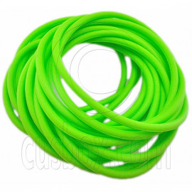 5 pcs Colorful Silicone Elastic Bracelet (Green)