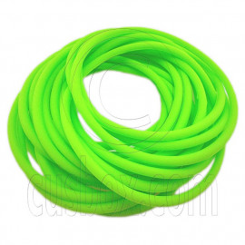 5 pcs Colorful Silicone Elastic Bracelet (Light Green)