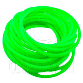5 pcs Colorful Silicone Elastic Bracelet (Sharp Green)