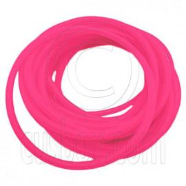5 pcs Colorful Silicone Elastic Bracelet (Salmon Pink)