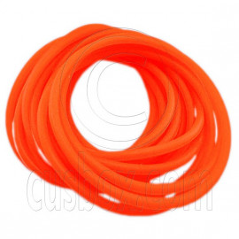5 pcs Colorful Silicone Elastic Bracelet (Orange)