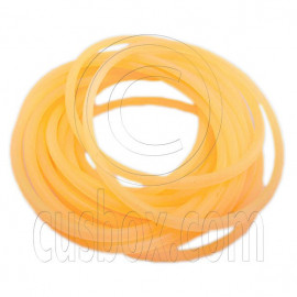 5 pcs Colorful Silicone Elastic Bracelet (Fluorescent Orange)