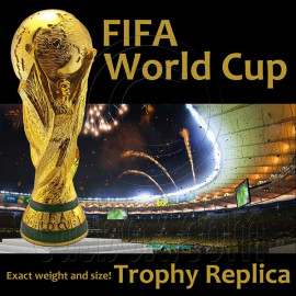 Fifa World Cup Trophy 1:1 36cm 4.7kg Resin Solid Replica