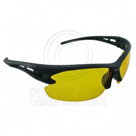 Yellow Professional Polarized Night Driving Low Light Foggy Cycling HD Glasses