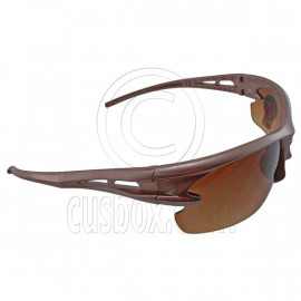 Brown Lens Professional Polarized Driving Cycling Mens Glasses Sports Sunglasses