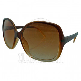 Brown Women's Girl Oversized Large Vintage Shades Polarized Designer Sunglasses