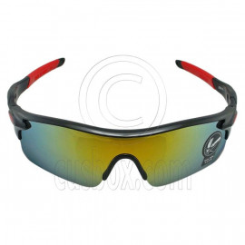 Professional Polarized Biking Cycling Running Golf Sport Wrap Around Sunglasses