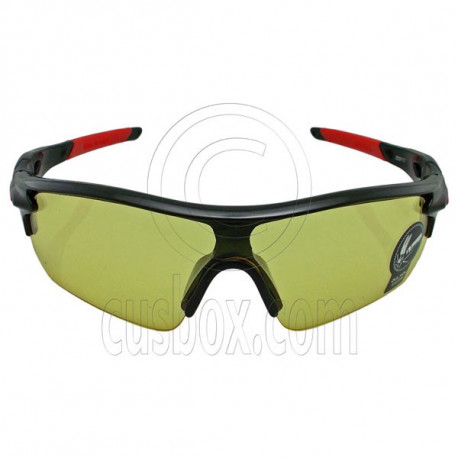 Professional Yellow Polarized Night Driving Cycling Running Low Light Glasses