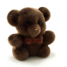 Mini Brown Lovely Bear Toy Animal Dollhouse Miniature