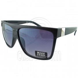 Black Lens Vintage Madness Wayfarer Sunglasses Men's Women's Fashion Retro UV400