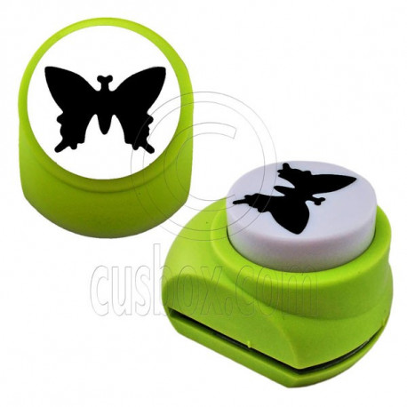 Butterfly Paper Edge Scrap Craft Punch Scrapbooking Die Cut Cupcake Toppers 3.5cm