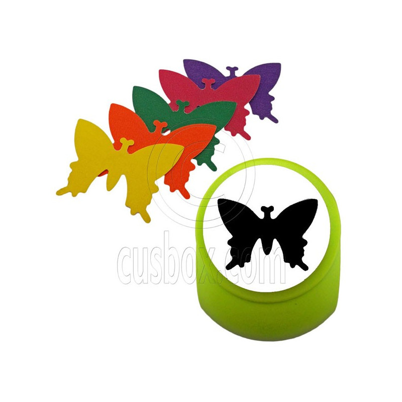 butterfly paper punch