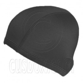 Light Elastane Swimming Cap (BLACK)
