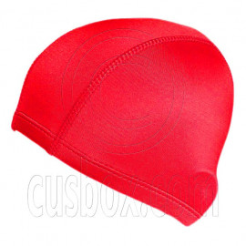 Light Elastane Swimming Cap (RED)