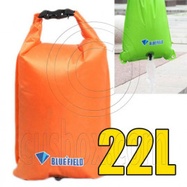 Bluefield 22L Kayaking Canoeing Dry Bag (ORANGE)