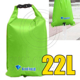 Bluefield 22L Kayaking Canoeing Dry Bag (GREEN)