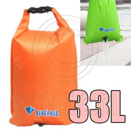 Bluefield 33L Kayaking Canoeing Dry Bag (ORANGE)