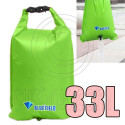 Bluefield 33L Kayaking Canoeing Dry Bag (GREEN)