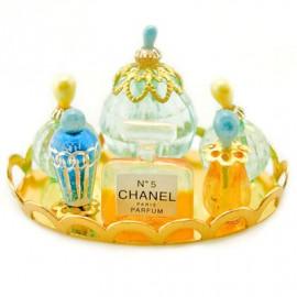Set Cosmetic Perfume Makeup Polish Dollhouse Miniature