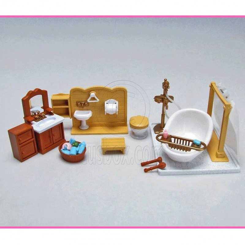 Calico Critters Deluxe Bathroom Set At Growing Tree Toys. calico critters bathroom set   Bathroom Design Ideas