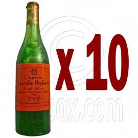 Lot/Set 10 Champagne Bottle 1:6 Barbie Blythe Doll's House Dollhouse Miniature
