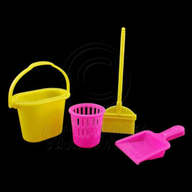 Living Room Cleaning Tool Set for Barbie Blythe Doll's House Dollhouse Miniature